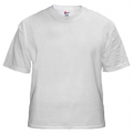 Blank White T-shirts for Tie-Dying