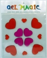 Hearts Large Gel