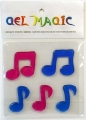 Musical Notes Small Gel