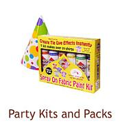 Party Kits and Packs