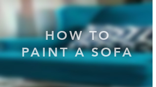 how to use the upholstery paint to recolor/restore sofa, couch, patio furnitures