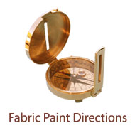 Fabric Paint Directions