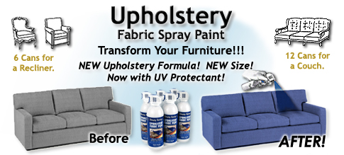 Fabric Spray Paint Chairs and Sofas Upholstery Paint