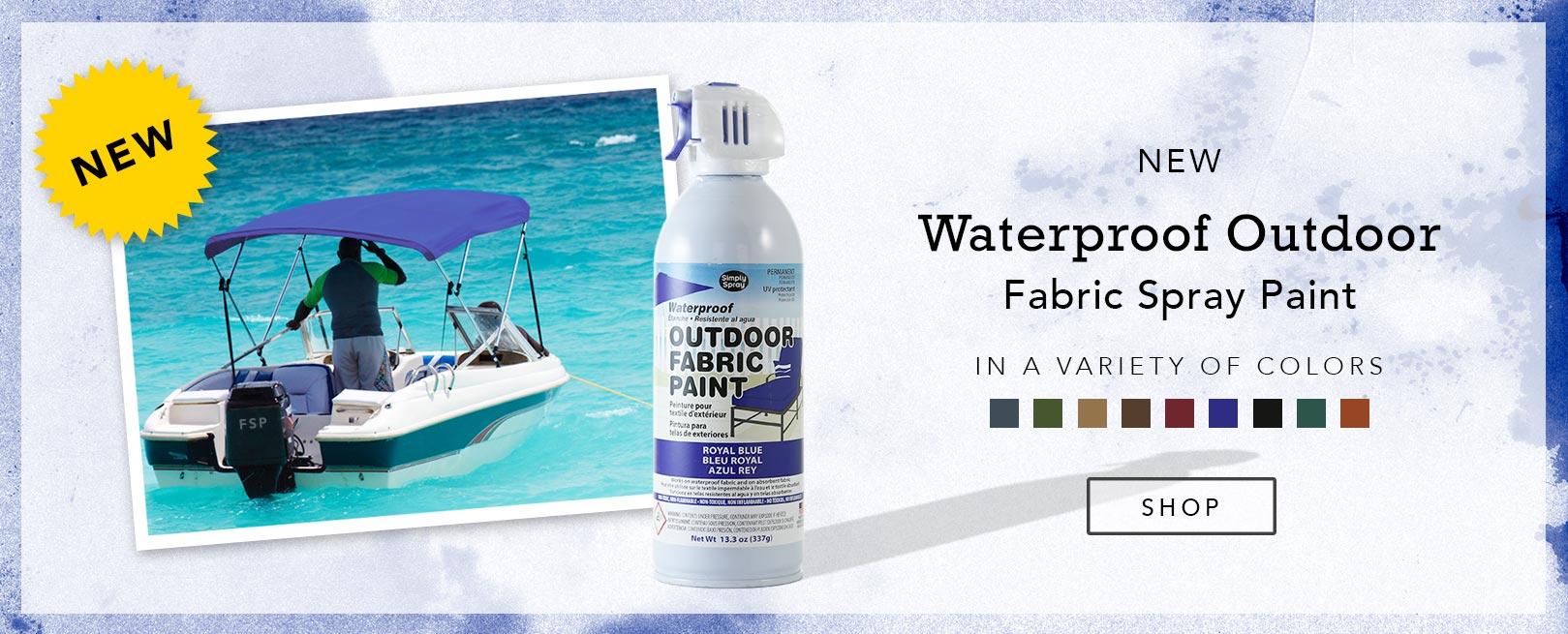 Waterproof Outdoor Fabric Spray Paint