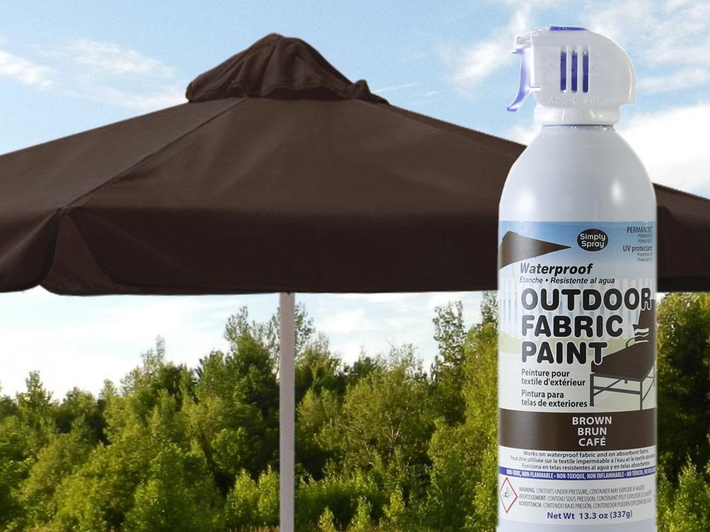 Brown Waterproof Outdoor Fabric Spray Paint