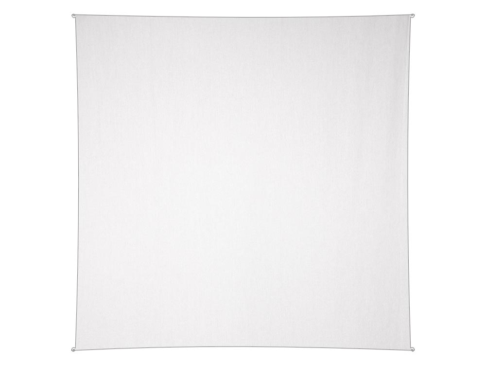 Blank White Tapestry 58 x 58 inches
