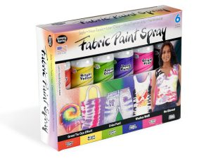 Six-Color Tie-Dye Party Kit